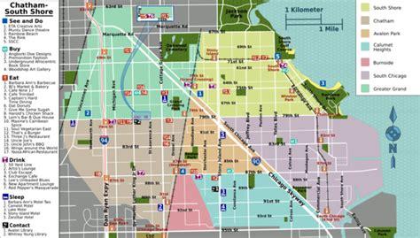 chicago neighborhood map with streets chicago map neighborhoods streets