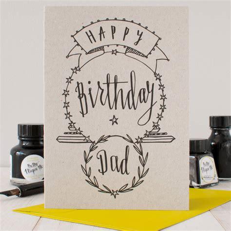 Happy Birthday Cards For Dads Happy Birthday Dad Birthday Card By Betty Etiquette