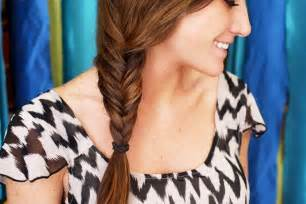easy hairstyles with box fishtales how to fishtail braid your own hair