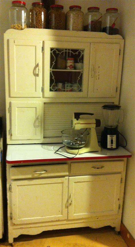 hoosier kitchen cabinet share