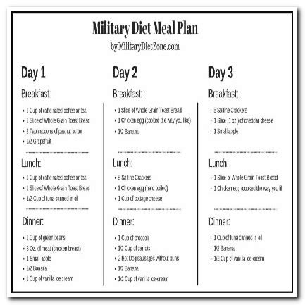 printable military diet shopping list 3 day military diet shopping list bloodsugardiabetes org