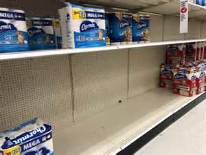 walmart amazon  target  close  selling   toilet paper   panic buyers