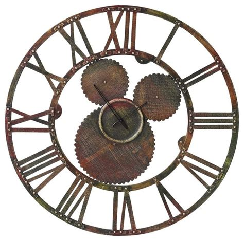 Metal Kitchen Cabinet by Industrial Clock Eclectic Clocks By Domayne Online