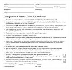 free consignment contract template consignment contract template 17 free documents