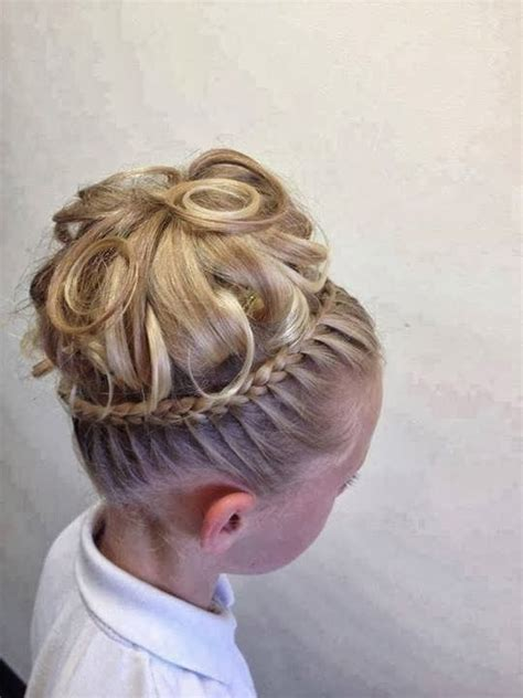 types of crown on head for hair styles hair styles for kids dance recital hair ideas