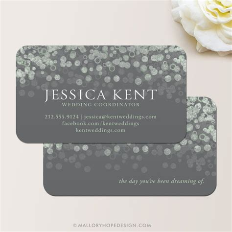 Wedding Cards Entertainment Design Company by Chagne Bubbles Business Card Calling Card Contact Card