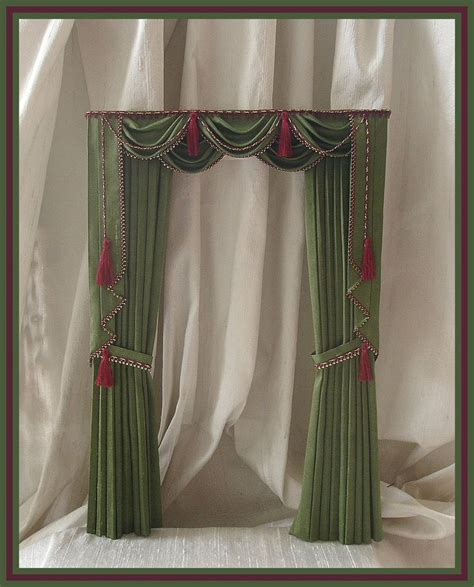 doll house curtains doll house curtains 28 images miniature 1 12 dollhouse curtains to order items