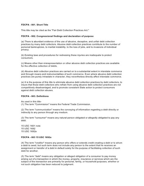 Fdcpa Cease And Desist Letter Sle Fdcpa Fair Debt Collection Practices Act