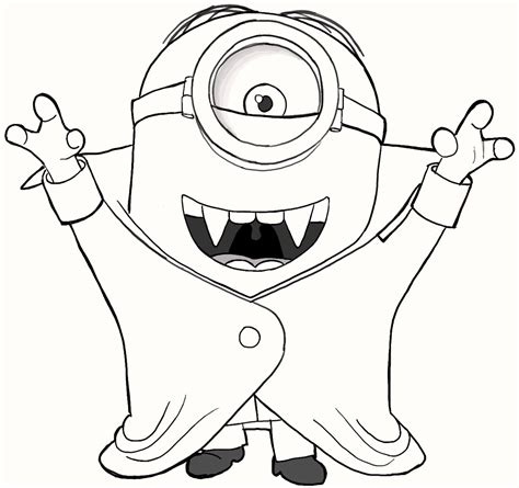 coloring pages cute minions 8 cute vire minions coloring pages