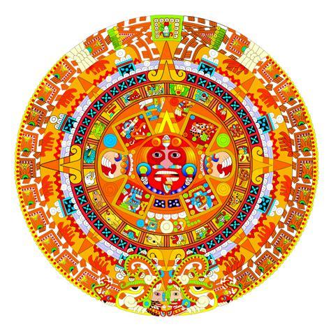 Calendario Azteca Y Piedra Sol Archivo Calendario Azteca Piedra Sol 091207 Svg
