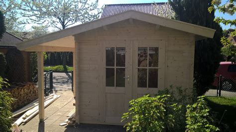 Karibu Gartenhaus Hardenberg 1 Blockbohle
