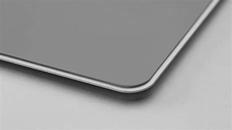 Metal Mouse Pad Rubber 300 X 240 X 3mm Silver T0210 1 metal mouse pad rubber 300 x 240 x 3mm silver