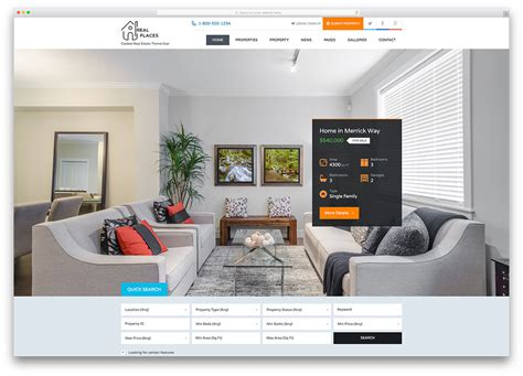 home design wordpress theme 15 best real estate wordpress themes for 2017 wpeka blog