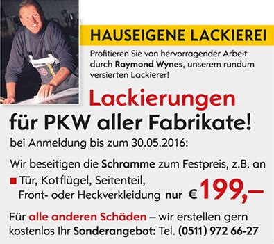Kfz Lackierer Hagen by Specials Angebote Autohaus Sokolowsky Opel