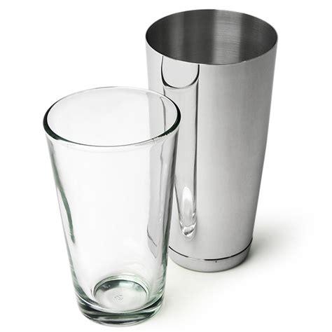 Botol Shaker boston cocktail shaker tin and glass at drinkstuff