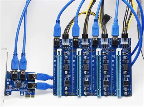 Usb Riser biostar presenta su riser usb y motherboard tb250 btc pro