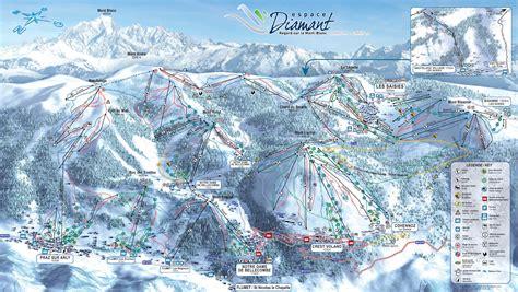 Plan 2 by Plan Des Pistes De Ski Val D Arly