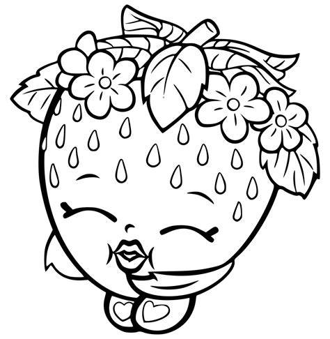 Shopkins Coloring Pages Best Coloring Pages For Kids Coloring Sheet