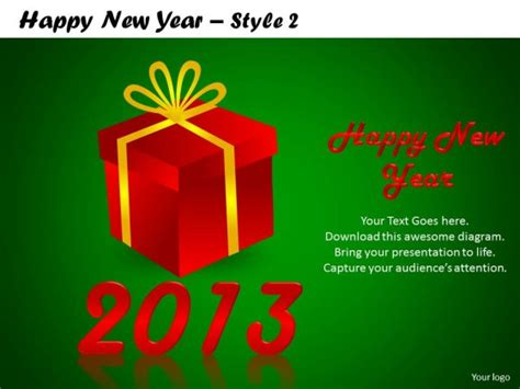 Powerpoint Template Education Happy New Year Ppt Slides Happy New Year Ppt Template Free
