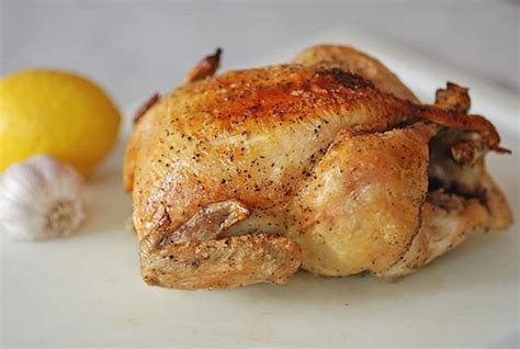basic whole roasted chicken recipe dishmaps
