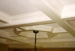 coffered ceiling architectural wood carving authentic