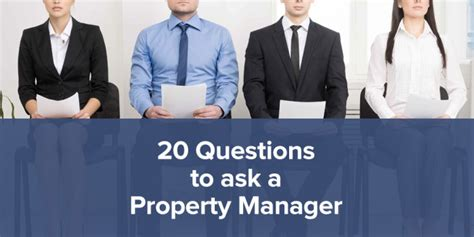 Hiring A Manager Questions Top 20 Questions To Ask Before Hiring A Property Manager