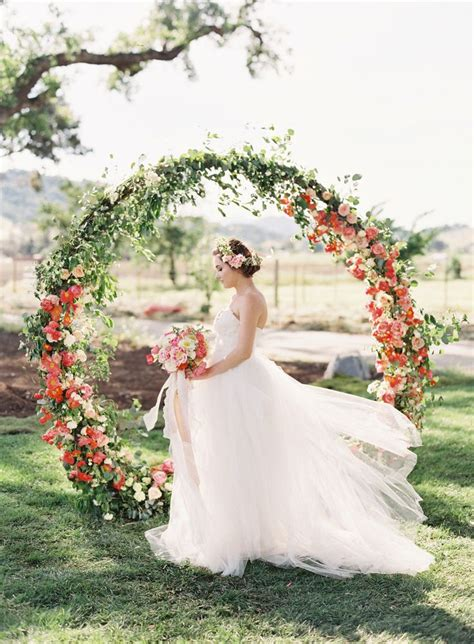 Wedding Arch Circular by Way To Add Floral Circular Details In Wedding