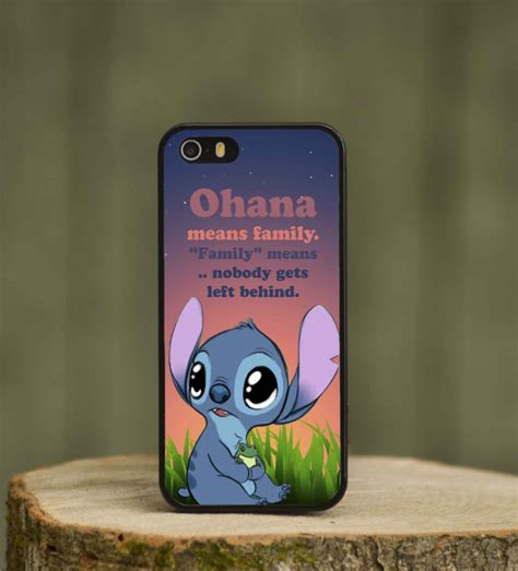 Stitch For Iphone 4 Or 4s lilo and stitch quote phone cover for