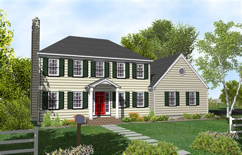 two colonial house plans 2 colonial house plans one colonial homes hip
