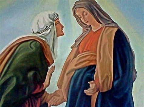 imagen de la virgen maria visitando a su prima isabel virgen maria su prima isabel maria pinterest