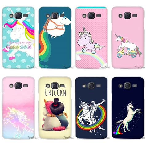 cute themes for samsung j1 my funny cute unicorn clear case cover coque shell for