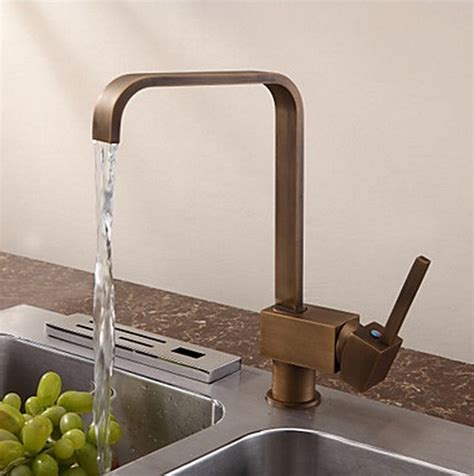 contemporary kitchen taps antique inspired solid brass kitchen tap antique brass