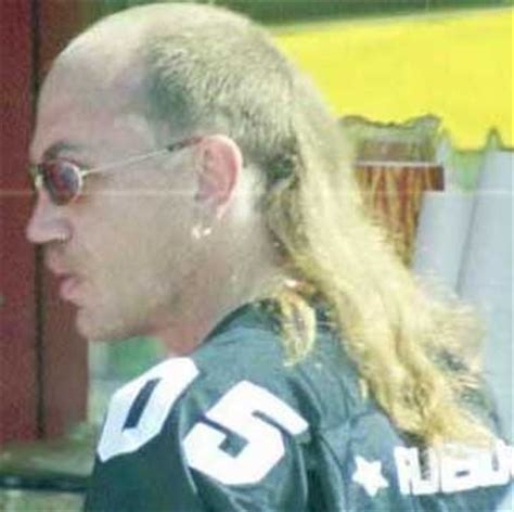 long hair on top mullets 13 best images about skullet a balding mullet on