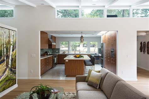 house remodel mid century house remodel project by klopf architecture in