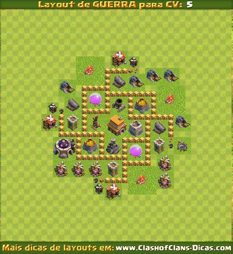 clash of clans dicas gemas gr tis tutoriais e layouts layouts para cv5 em guerra clash of clans dicas gemas
