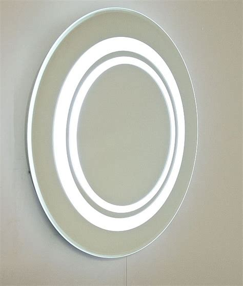 round bathroom mirror with lights round fluorescent bathroom mirror diameter 600mm