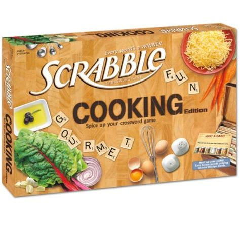 cooking board cooking scrabble