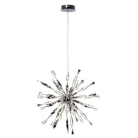 Lu Led Brilliant lustre led brilliant inaya chrome acier g93575 15