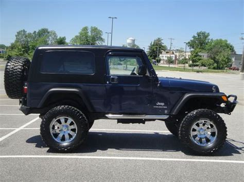 2005 Jeep Wrangler Tires Purchase Used 2005 Jeep Wrangler Unlimited 6 5 Quot Lift 36