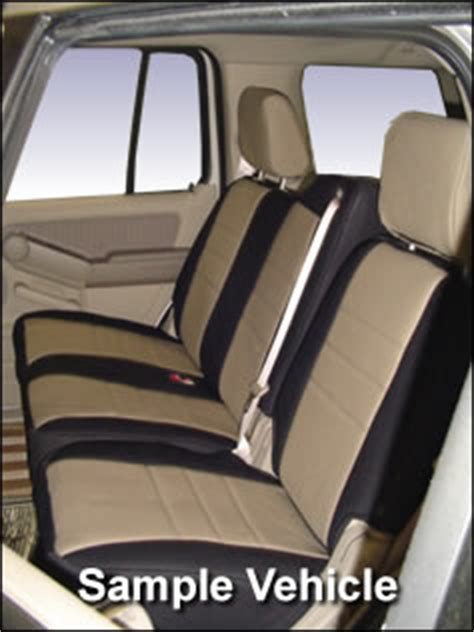 Chrysler Pacifica Seat Covers by Chrysler Pacifica Standard Color Seat Covers Middle