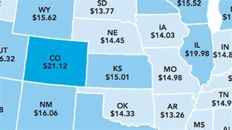 average rent per state how much you have to earn to afford a 2 bedroom rental in each state