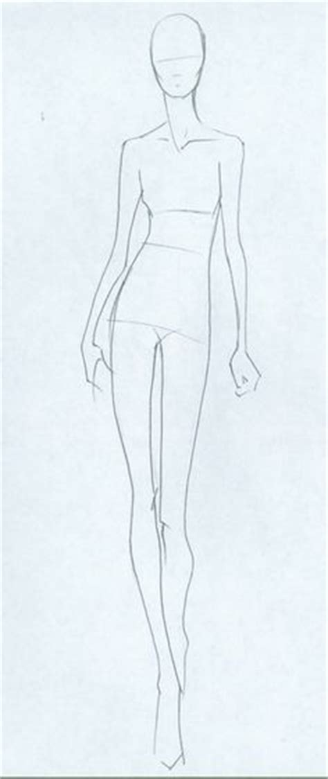 sketch model template 1000 ideas about clothing sketches on fashion