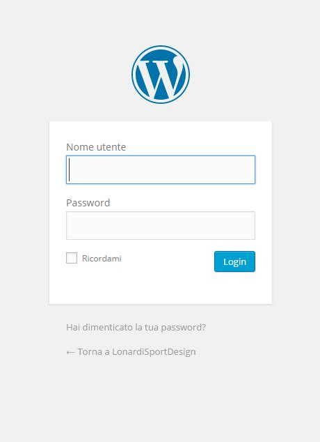 tutorial ci login wordpress tutorial come scrivere un articolo