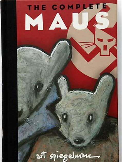 the complete maus graphic change to vce as comics get serious breaking
