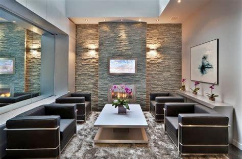 paredes de piedra ideas   fotos de interiores decoraideas