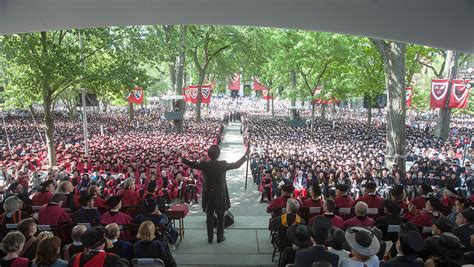 Harvard Mba Graduation 2016 by A Day And Even Brighter Futures Harvard Gazette
