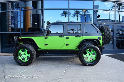 Lime Green Jeep Lime Green Jeep Wrap Wrapfolio