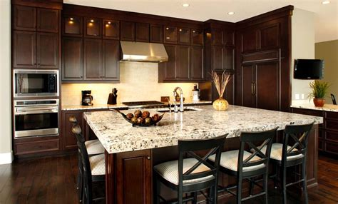 dark wood kitchen ideas huntwood usa kitchens and baths manufacturer