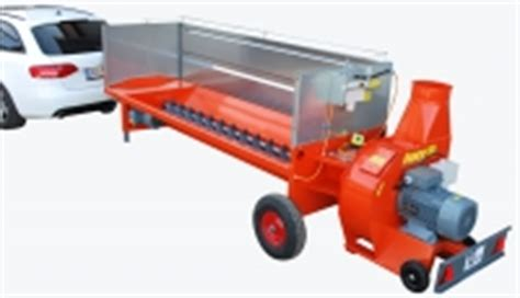 Chip Blower wood chip conveying