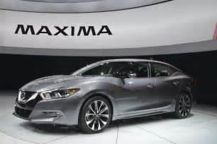 Nissan Maximas 2016 Nissan Maxima Unveiled Motor Exclusive